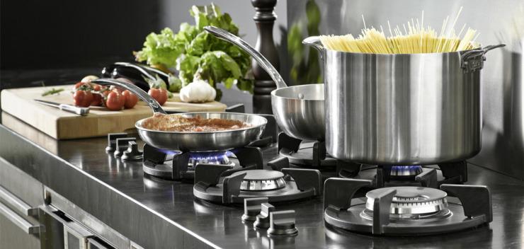 Flexible Gasbrenner für Küche Küchenkompass