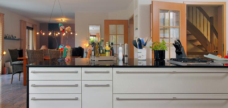 Raumteiler Küchentheke