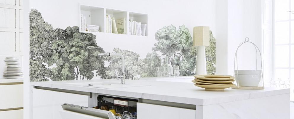 Tapete In Der Küche Küchenkompass