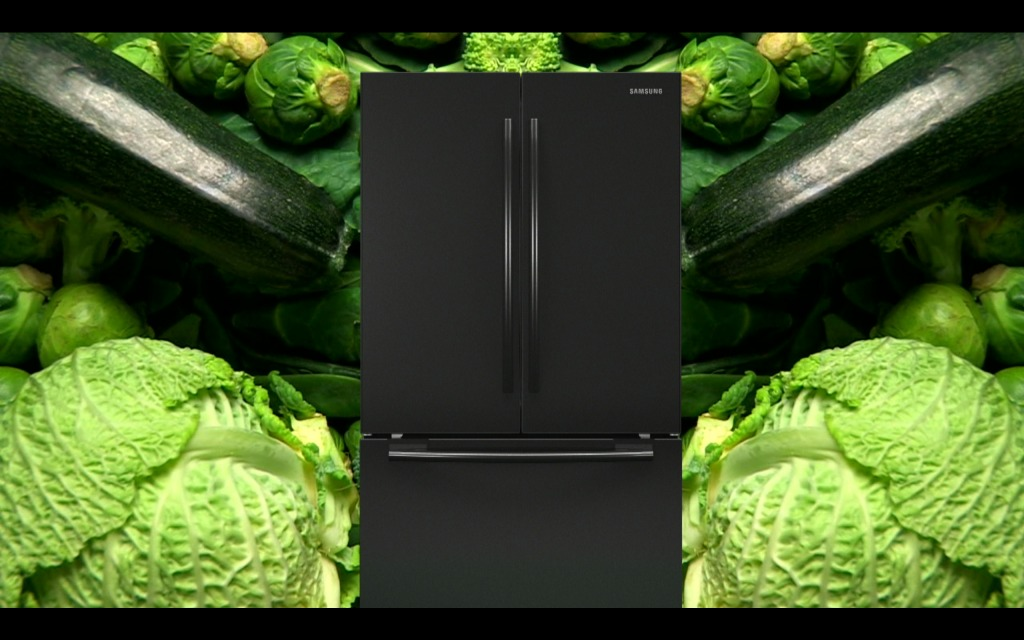 Mark Leckey, GreenScreenRefrigeratorAction, 2010 © the artist and Cabinet, London.
