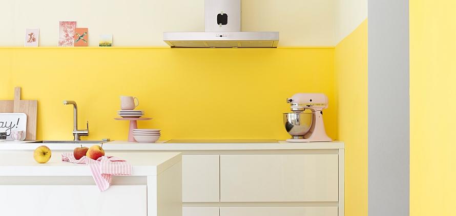 Farbenfrohe Küche - Küchenkompass