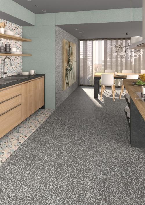 Boden im Stracciatella-Look - Küchenkompass