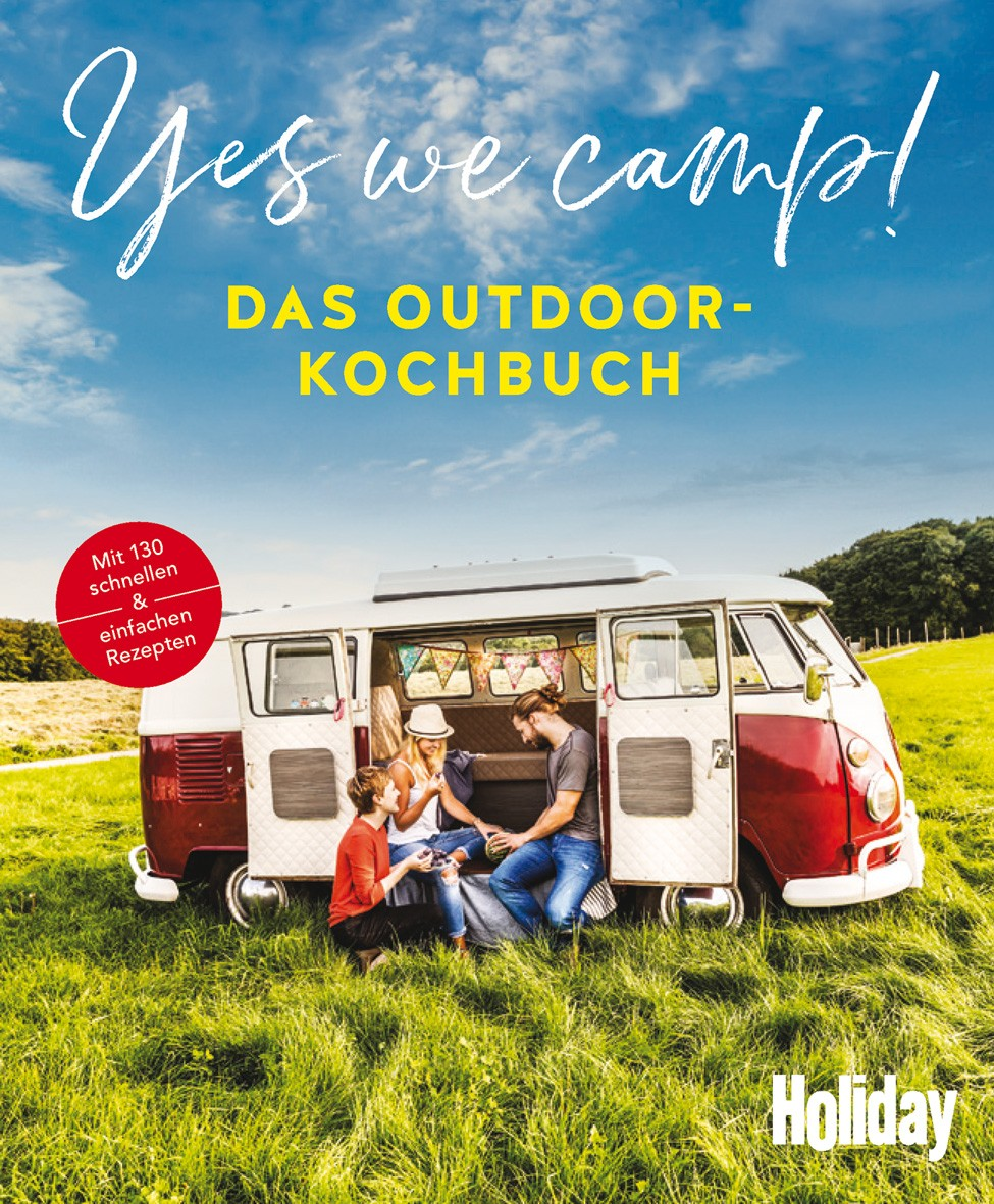 Cover Yes we camp Outdoor-Kochbuch Holiday Gräfe und Unzer