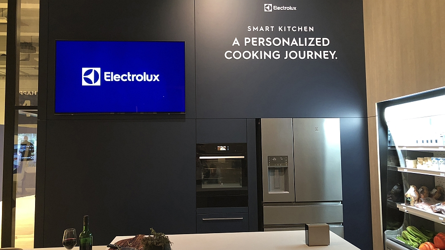 Messestand Smart Kitchen Electrolux IFA 2018